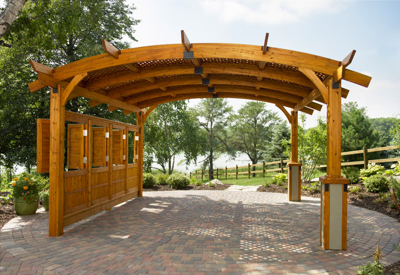 Pergolas design outdoor pergola designs for Photos de pergolas